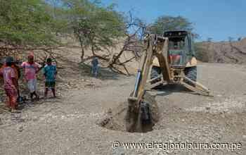 Sullana: excavan más pozos para resolver escasez hídrica en Marcavelica - El Regional