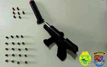 Pistola e carro furtado são apreendidos pela PM em Tapira e Rancho Alegre do Oeste - CGN