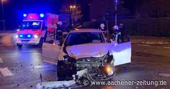 Ratheim: Autofahrerin bei Zusammenstoß verletzt - Aachener Zeitung