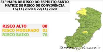 Novo mapa: ES tem apenas Santa Teresa e Ecoporanga em risco moderado - A Gazeta ES