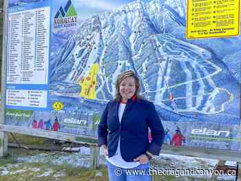 Art for art's sake - Teha Ciotti, Living the dream at Mount Norquay - The Crag and Canyon