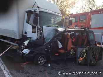VENARIA. Muore nello scontro in zona Cebrosa - giornalelavoce