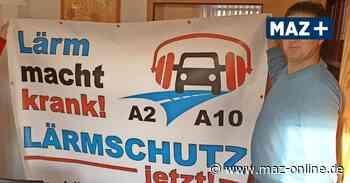 Neue Autobahn GmbH soll Lärmschutz bei Kloster Lehnin überprüfen - Märkische Allgemeine Zeitung