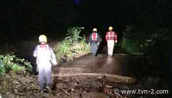 Reportan siete personas evacuadas y tres residencias afectadas por inundaciones en Soná - TVN Noticias