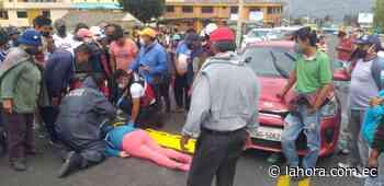 Atropellan a una mujer en Pelileo - La Hora (Ecuador)