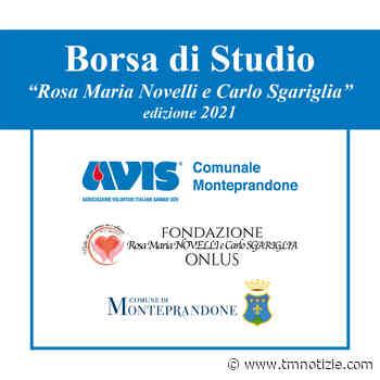 Monteprandone, seconda edizione della Borsa di Studio Rosa Maria Novelli e Carlo Sgariglia ⋆ TM notizie - ultime notizie di OGGI, cronaca, sport - TM notizie
