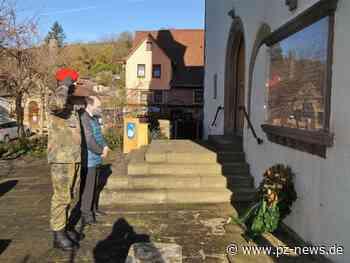 Volkstrauertag in aller Stille Knittlingen und Wiernsheim gefeiert - Region - Pforzheimer Zeitung