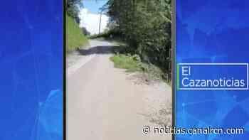 El Cazanoticias: habitantes denuncian el derrumbe de la carretera en Simacota, Santander - Noticias RCN