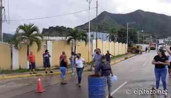 Habitantes de Guanta y Puerto La Cruz protestan para exigir agua potable - El Pitazo