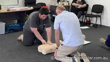 Dugald River hosts community first aid course - The North West Star