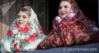 Partying Old Style: Ethno Village in Russia's Belgorod Region - Sputnik International