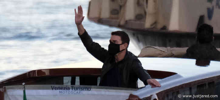 Tom Cruise Masks Up Filming 'Mission Impossible' on the Grand Canal in Venice