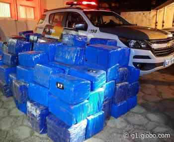 Abordagem policial em Pirapozinho resulta na apreensão de quase 3 toneladas de maconha - G1