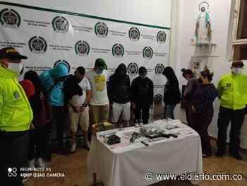 En Santa Rosa de Cabal capturaron a la banda Los Monos - El Diario de Otún