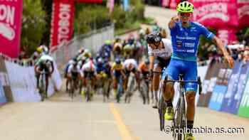 Bernardo Suaza gana la primera etapa de la Vuelta a Colombia - AS Colombia