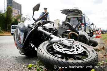 Zahl der Motorradunfälle sinkt – außer im Kreis Lörrach und im Breisgau - Freiburg - Badische Zeitung