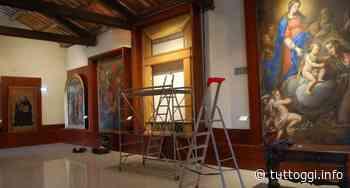 """Amelia, Fondazione Carit restaura dipinto della """"Madonna con bambino"""" - TuttOggi"""