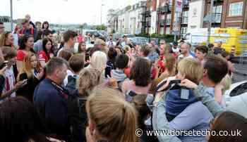 When A-lister David Beckham brought Weymouth to a standstill - Dorset Echo