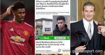 Manchester United: Marcus Rashford treatment compared to media coverage of David Beckham - GIVEMESPORT