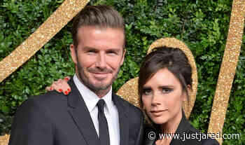Victoria Beckham Hilariously Trolled Her Husband David for His Shoes Choice - Just Jared