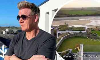 Gordon Ramsay poses in stylish David Beckham shades - Daily Mail
