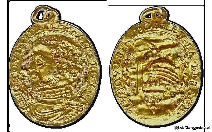Veiling zeldzame gouden geuzenpenning