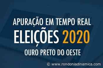 Tempo Real - Apuração das Eleições 2020 em Ouro Preto do Oeste - Rondônia Dinâmica