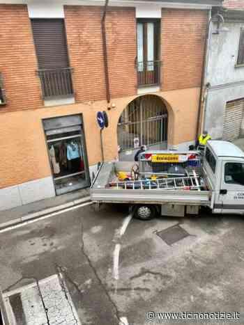 Magenta: niente più transenne in via Garibaldi, 'pasticciaccio' risolto. Barenghi esulta (è-anche-la stampa, signori...) - Ticino Notizie