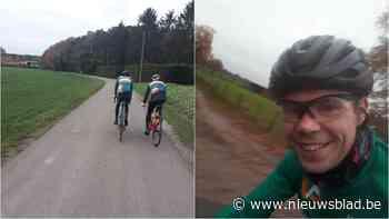 Twee fietsvrienden rijden in één dag 3.000 'rondjes' in het Kuipke