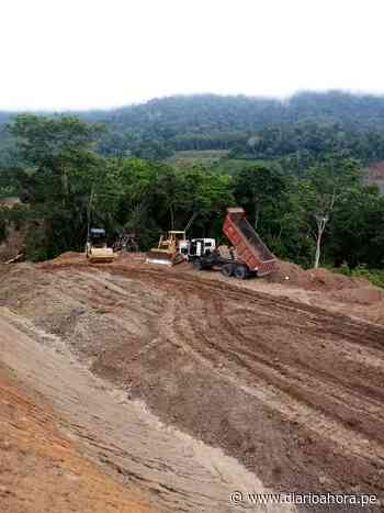 Construcción de carretera Chazuta-Curiyacu continúa - DIARIO AHORA