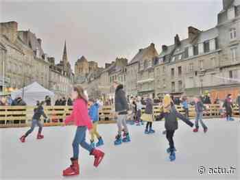 Guingamp : la patinoire sera installée place du Centre pour les fêtes de fin d'année - L'Echo de L'Argoat