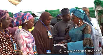 FG Begins Disbursement Of N20,000 Conditional Cash Transfer To Bauchi Rural Women - Channels Television