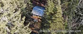 Propriété située à proximité de la Rivière-du-Loup avec chalet pour 28 500$
