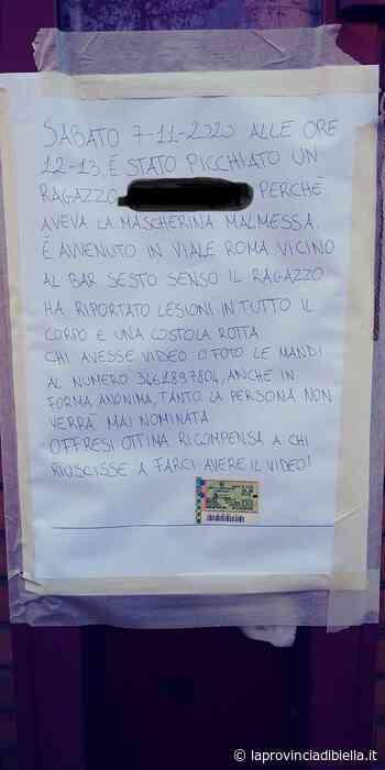 Ragazzo picchiato selvaggiamente a Biella perché aveva la mascherina messa male, si cercano testimoni - La Provincia di Biella