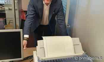 Capitanio: nei comuni addio alle stampanti ad aghi - Prima Biella - Prima Biella
