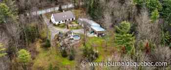 La Présentation: chaleureuse propriété avec piscine, spa, sauna et sentiers