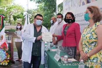 Entregan reconocimiento a trabajadores del IMSS en Q Roo - Cancún Mio