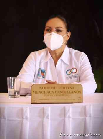Ludivina Menchaca condena vandalismo en manifestaciones feministas en Cancún - Cancún Mio