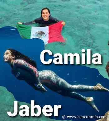 Camila Jaber va por un nuevo récord de Apnea - Cancún Mio