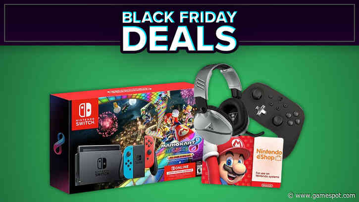 Black Friday 2020 Includes Nintendo Switch Console Bundle, Controllers, And More