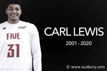 Sudbury Five 'devastated' by sudden death of young player Carl Lewis