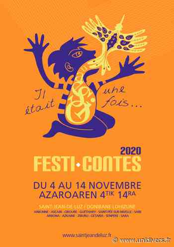 Festi-Contes 2020 : « Pas chassés sur la courbe du monde » » Ciboure - Unidivers