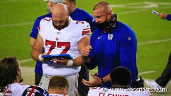 Giants unexpectedly fire offensive line coach Marc Colombo, replace him with Dave DeGuglielmo, per report