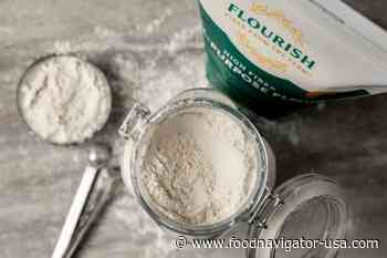 Flourish flour has 5x the fiber, but 'looks, tastes and bakes like all-purpose flour,' claims Bay State Milling