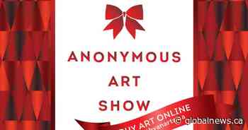 North Van Arts' Online Holiday Fundraiser, the Anonymous Art Show