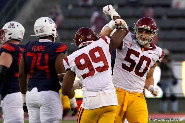 USC's Drake Jackson feeling at ease in new hybrid role