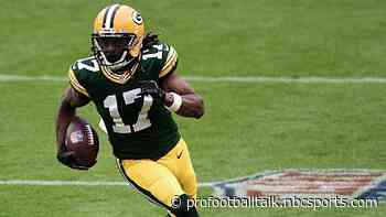 "Davante Adams limited in practice, ""the idea"" is to play Sunday"