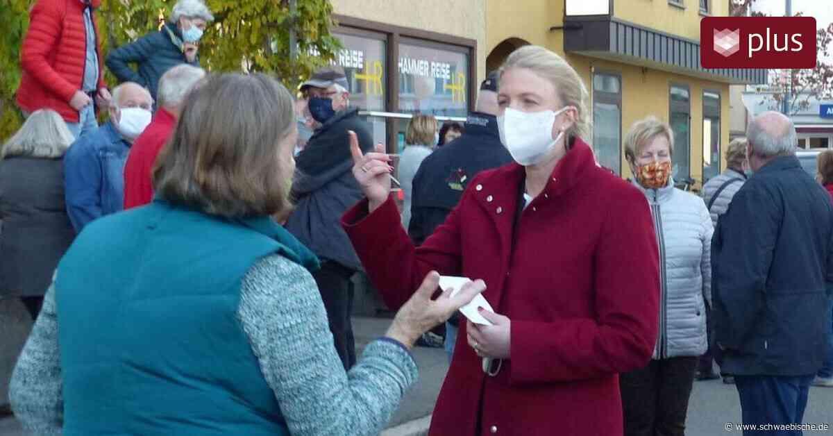 """Susanne Irion will """"Bürgermeisterin auf Augenhöhe"""" werden - Schwäbische"""