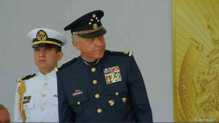 Drug trafficking charges against ex-Mexican general dropped by US