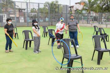 Retomaron actividades presenciales para personas con discapacidad en San Fernando - Que Pasa Web
